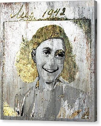 Anne Frank Canvas Print