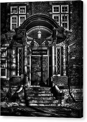 Annesley Hall Toronto Canada Canvas Print by Brian Carson