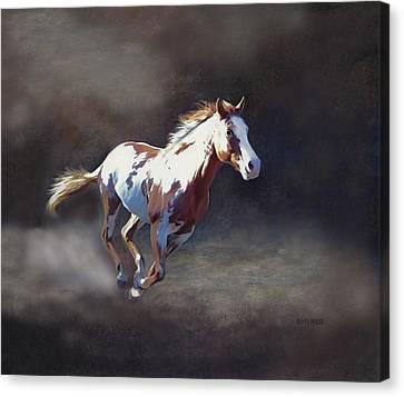 Annie Bonanza Canvas Print by Barbara Hymer