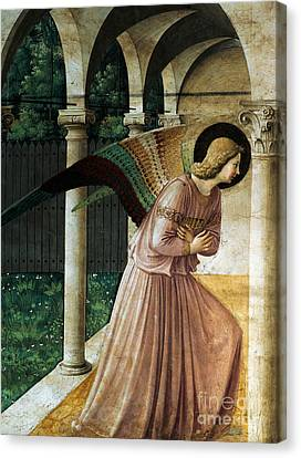 Annunciation Canvas Print by Fra Angelico