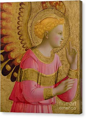Angel Canvas Print - Annunciatory Angel by Fra Angelico