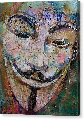 Anonymous Canvas Print by Michael Creese