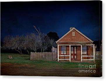 Another Aussie Night Canvas Print by Russ Brown