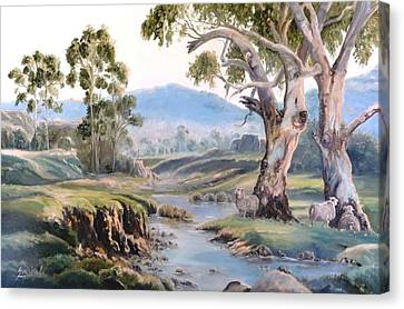 Another Australia Day Canvas Print by Diko