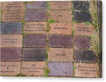 Another Brick Canvas Print by Teresa Mucha