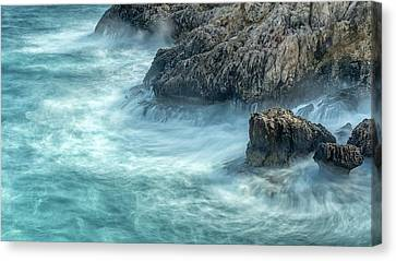 Another Cold And Windy Day Canvas Print by Stelios Kleanthous