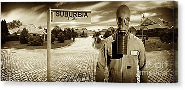 Another Day In Suburbia Canvas Print by Jorgo Photography - Wall Art Gallery