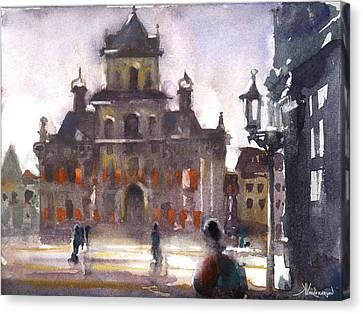 Another Day Canvas Print by Kristina Vardazaryan