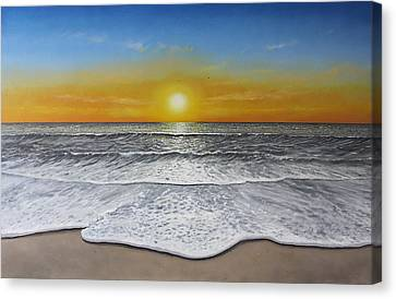 Another Day Canvas Print by Paul Newcastle
