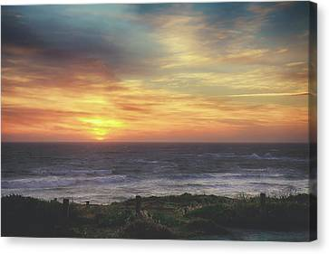 Another Goodbye Canvas Print by Laurie Search