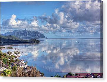 Another Kaneohe Morning Canvas Print by Dan McManus