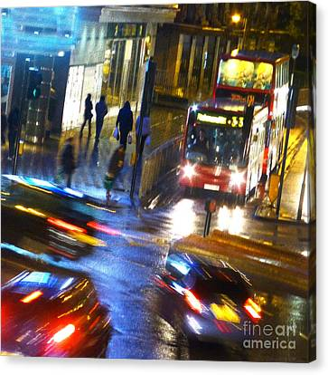 Canvas Print featuring the photograph Another Manic Monday by LemonArt Photography