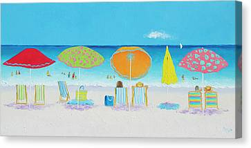 Another Perfect Beach Day Canvas Print