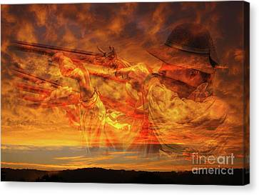 Another Place And Time Canvas Print by Randy Steele