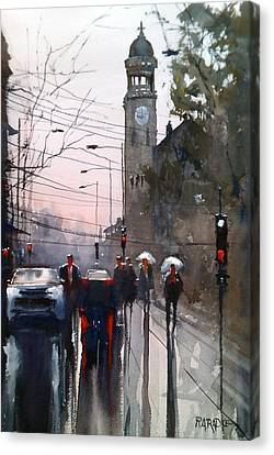 Canvas Print - Another Rainy Day by Ryan Radke