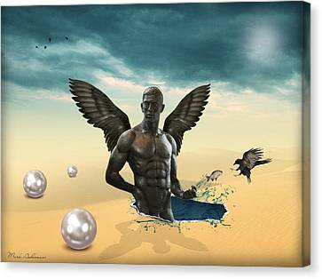 Another Side Of Dream 2 Canvas Print by Mark Ashkenazi