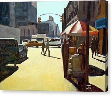 Another Summer In Manhattan Canvas Print