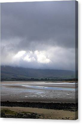 Another View From Strandhill Beach Ireland Canvas Print by Amy Williams