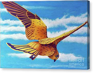 Another Way Canvas Print by Brian Commerford