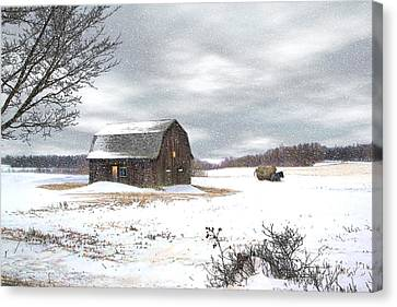 Another Winter Day Canvas Print by Gary Smith