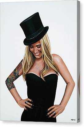 Anouk 3 Canvas Print by Paul Meijering