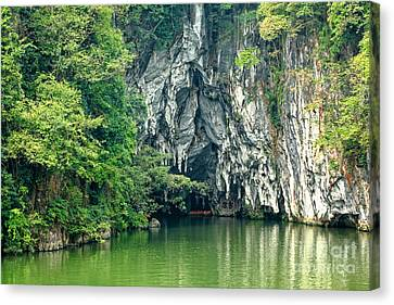 Guizhou Dragon Palace Cave Canvas Print by Charline Xia