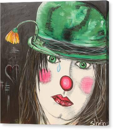 Ansichten Eines Clowns Canvas Print