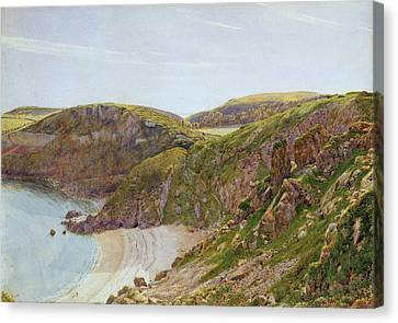 Anstey's Cove Canvas Print by George Price Boyce
