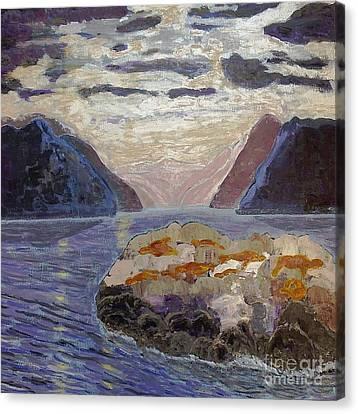 Antarctic Seals  Canvas Print by Vicky Tarcau