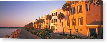 Antebellum Canvas Print - Antebellum Architecture Battery by Panoramic Images