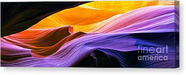Antelope Canyon  Canvas Print by Frank Wicker