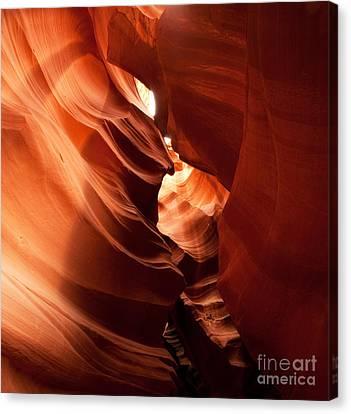Antelope Canyon Canvas Print by Matt Tilghman