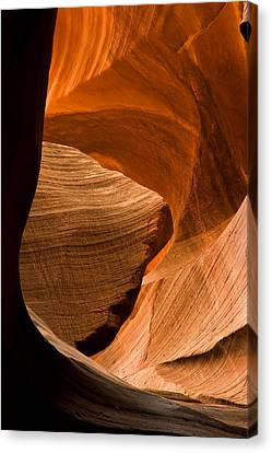 Sculpted Canvas Print - Antelope Canyon No 3 by Adam Romanowicz
