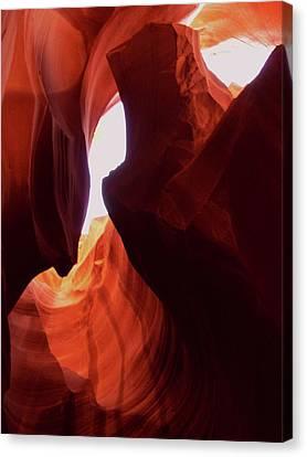 Antelope Slot Canyon  Canvas Print by Martina Fagan