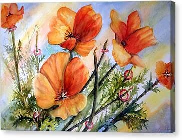 Antelope Valley Poppy Fields Canvas Print