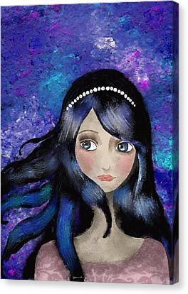 Anthem Canvas Print by Yazmin Basa