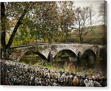 Burnside's Bridge Over Antietam Creek Canvas Print