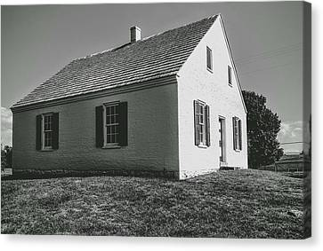 Antietam Series Dunker Church Canvas Print by Paul Kercher