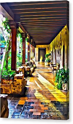 Antigua Canvas Print by Carey Chen
