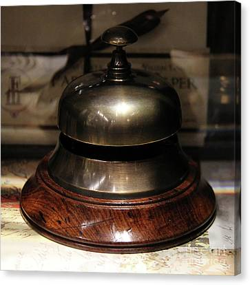 Antique Bell Canvas Print by Kasia Bitner