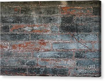 Canvas Print featuring the photograph Antique Brick Wall by Elena Elisseeva