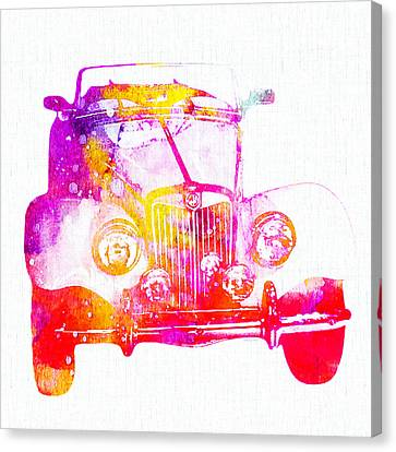 Antique Car Canvas Print by Stacey Chiew