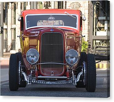 Antique Coup Front End Canvas Print