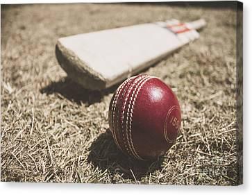 Antique Cricket Test Match Canvas Print by Jorgo Photography - Wall Art Gallery