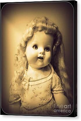 Antique Dolly Canvas Print by Susan Lafleur
