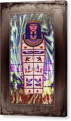 Antique Egyptian Magic Canvas Print by Ian Gledhill