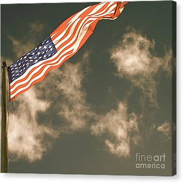 Antique Flag Canvas Print