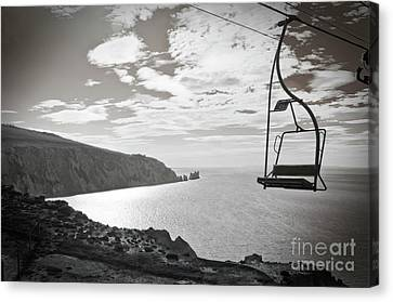 Antique Needles Isle Of Wight Canvas Print by Terri Waters
