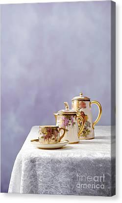 Antique Oriental Teaset Canvas Print