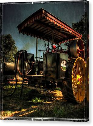 Gifts For Men Canvas Print - Antique Powerland Museum Tractor by Thom Zehrfeld